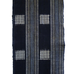 An Elegantly Woven Length of Cotton: Stripes and Kasuri Plaid