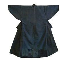 A Boro Cotton Kimono: Wonderful Mending and Handwoven Cloth