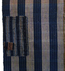A Striped Cotton Length: Some Zanshi and Double Patching