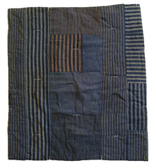 A Very Good Piece Constructed Boro Padded Textile: Off-Square and Intact