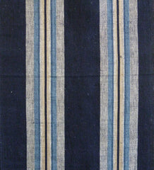 A Length of Handsome Striped Cotton: Beautiful Design