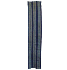 A Length of Handwoven Striped Cloth: Futon Cover