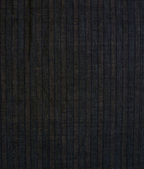A Length of Pieced Striped Cloth: 19th Century Cotton