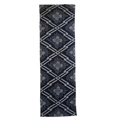 A Length of Rustic Katazome Cotton: Large Graphics