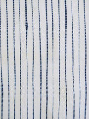 A Length of Striped Shibori: Suji or Pleated Technique