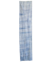 A Length of Suji Shibori: Folded Striped Cotton
