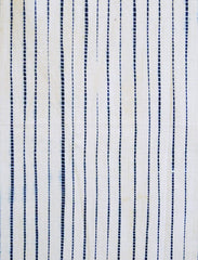 A Length of Suji Shibori: Pleated Technique