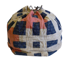 A Splendid Drawstring Bag: Brilliantly Designed and Piece-Constructed