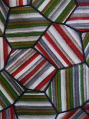 A Length of Meisen Silk: Striped Geometry
