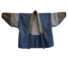 A Piece Constructed Han Juban: Recycled Cottons