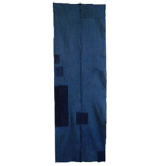A Tall Boro Cloth: Two Panels of Hand Spun Cotton
