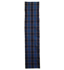 A Length of Meiji Era Plaid Cotton: Beautiful Color