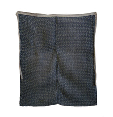 A Pieced Hemp Apron: Tohoku Katazome