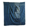 A Pieced and Patched Furoshiki: Thickly Woven Indigo Dyed Cottons