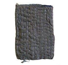 A Thickly Layered Zokin: Sashiko Stitched