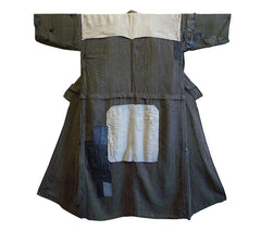 A Handsome and Lightweight Boro Kimono: Patched Cotton