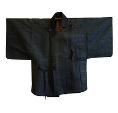 An Edo Period Samurai Travel Coat: Cotton and Kudzu