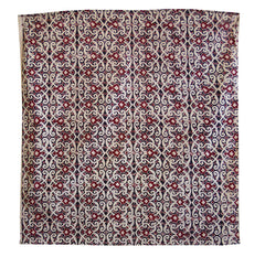 A Square of Real Ajrakh Cloth: Bold, Traditional Sindhi Dyeing