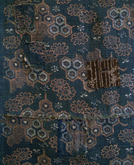 A Beautifully Figured Length of Tsumugi Silk: Patches