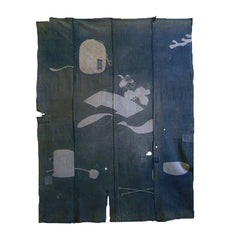 A Tattered and Faded Tsutsugaki Futon Cover: Ghosts of Tea Ceremony Utensils