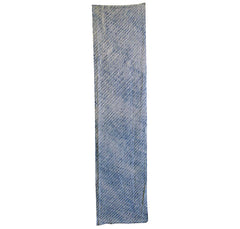 A Length of Double Arashi Shibori: Indigo Dyed Cotton from Arimatsu