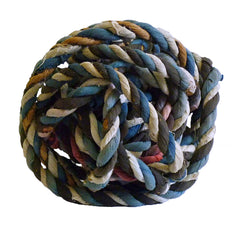 A Ball of Festival Twine: Cotton and Bast Fiber