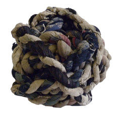 A Ball of Hand Made Rope: Recycled Cotton Rags