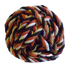 A Ball of Decorative Rope: Cotton Covered Bast Fiber Twine
