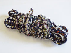 A Wonderful Length of Hand Braided Recycled Rope: Multiple Textiles