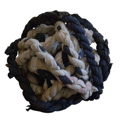 A Ball of Boro Himo: Rustic Hand Twisted Rope