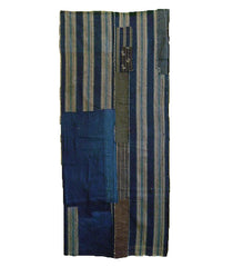 A Very Attractive Two Haba Boro: Patches and Old Woven Stripes