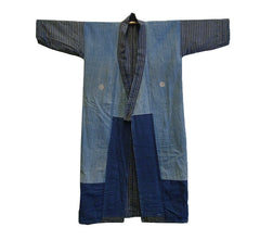 A Boro Cotton Kimono: Recycled Cottons and Family Crests