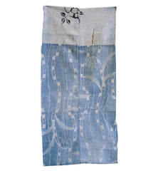 A Katazome and Chusen Dyed Diaper: Tattered Cotton