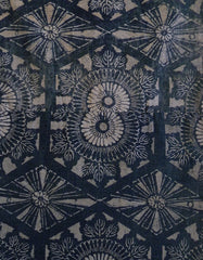 A Faded Length of Richly Patterned Cotton: Katazome