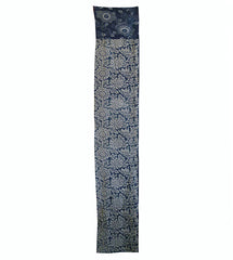 A Richly Patterned Katazome Length: Two Types of Indigo Dyed Cotton