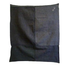 A Subtle and Beautiful Piece Constructed Furoshiki: Narrow Stripes and Small Plaids