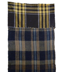 A Length of Patched Plaids: Boro Panel