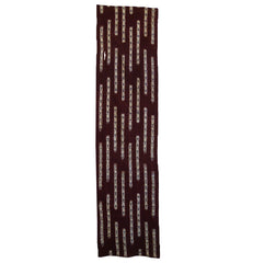 A Length of Kasuri Dyed Cotton: Vertical Bars