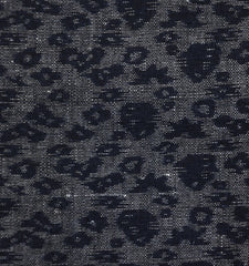 A 19th Century Length of Tone on Tone Kasuri: Weft Based Design