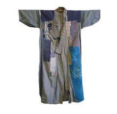A Fantastically Patched Boro Kimono: Artistry in Happenstance