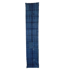 A Nicely Patched Length of Low-Contrast Plaid Cotton: Old and Handwoven