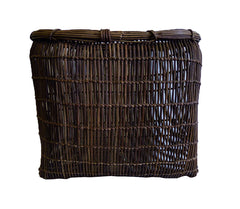 A Hand Twined Akebia Vine Basket: Elegant, Beautiful Form