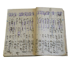 An Old Accounting Ledger: Hand Written Daifukucho