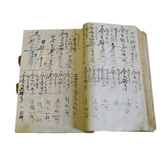A Hand Written Ledger Book: Daifukucho