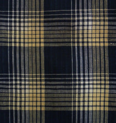 A Length of Old Plaid Cotton: Gradient Stripes