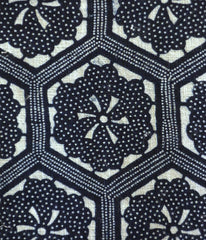 A Length of Intricately Designed Katazome: Sparkling Pattern