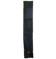 A Length of White Stitched Boro: Indigo Dyed Cotton