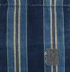 A Handsome Striped Length: Pieced and Patched