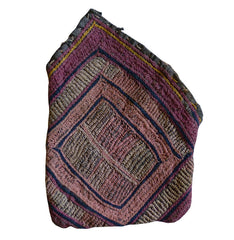 A Very Small Stitched Indian Pouch: Banjara