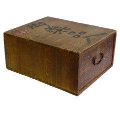 A Small Wooden Drawered Box: Attractive Storage